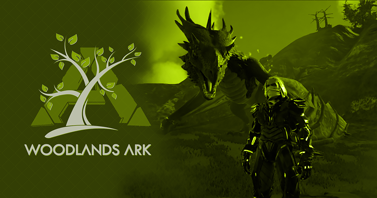 Woodlands ARK - #1 Xbox & PC Crossover PVE ARK: Survival